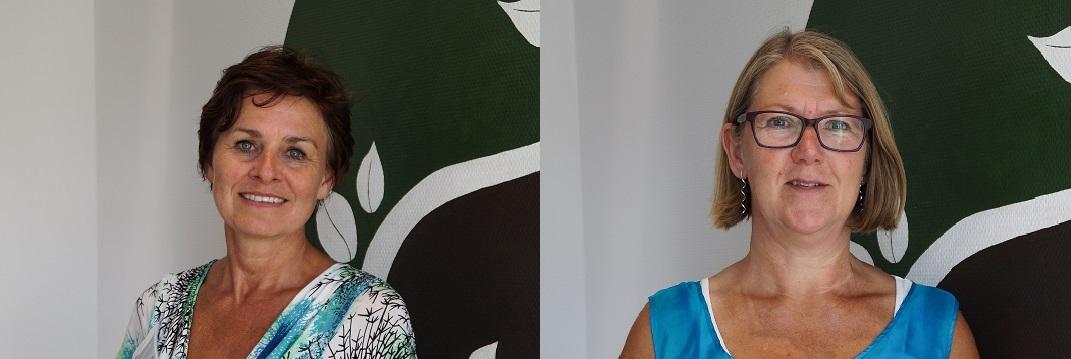 Astrid Kolfschoten En Carla De Jong In 't Wheemhuus Gezondheidscentrum Zuidwolde