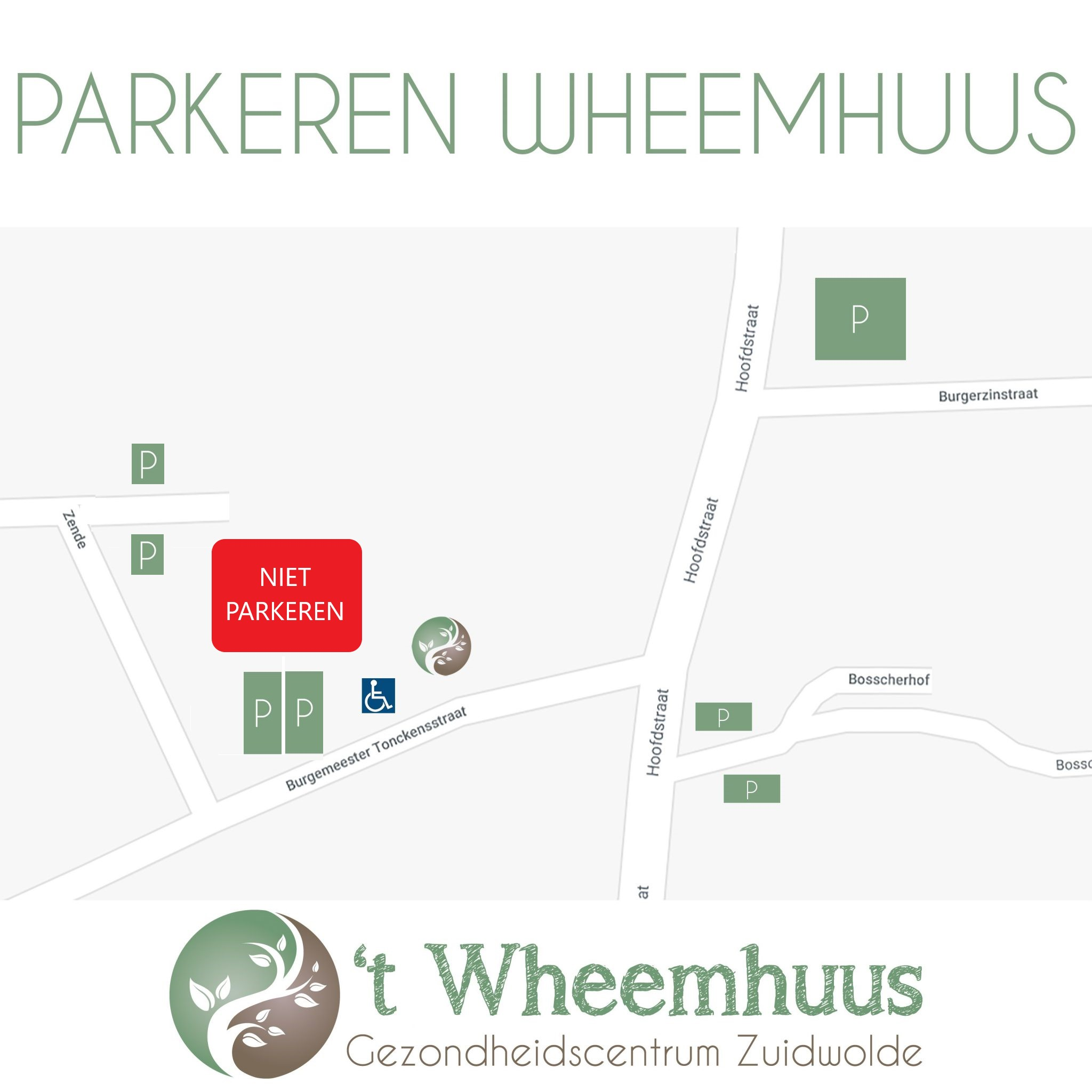 Parkeren 't Wheemhuus Zuidwolde